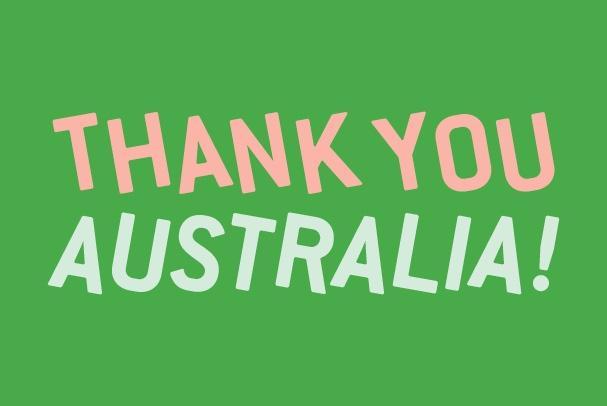 Thank You Australia V3