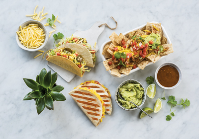 Mexican Vegan Food Range