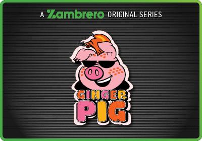 Z Rated Ginger Pig Tile