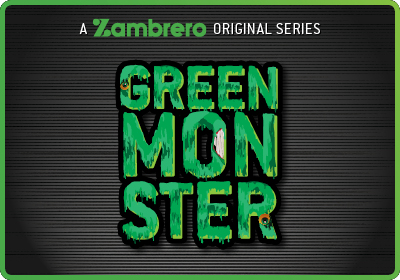 Z Rated Green Monster Tile